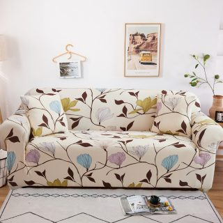 24colors Slipcover floral sofa covers