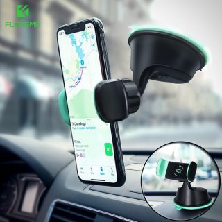 FLOVEME Universal Car Phone Holder For iPhone Samsung Dashboard Smartphone Navigation Car Holders For Phone In Car Mount Stand