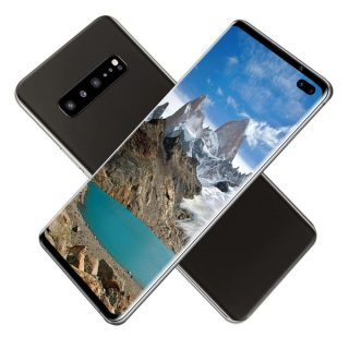 S10+ 6.6 Inch 3D Glass Back Cover Android Domestic Full Screen Smart Phone 1+16G Memory Card Dual Card Dual Standby